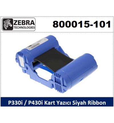 Zebra P330i-P430i Kart Yazıcı Ribon Siyah 800015-101