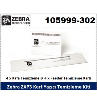 Zebra Kart Yazıcı Temizlik Kiti 105999-302 (ZXP3 Serisi)