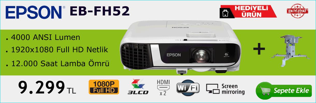 Epson FH52 Projeksiyon Cihazı Kampanya