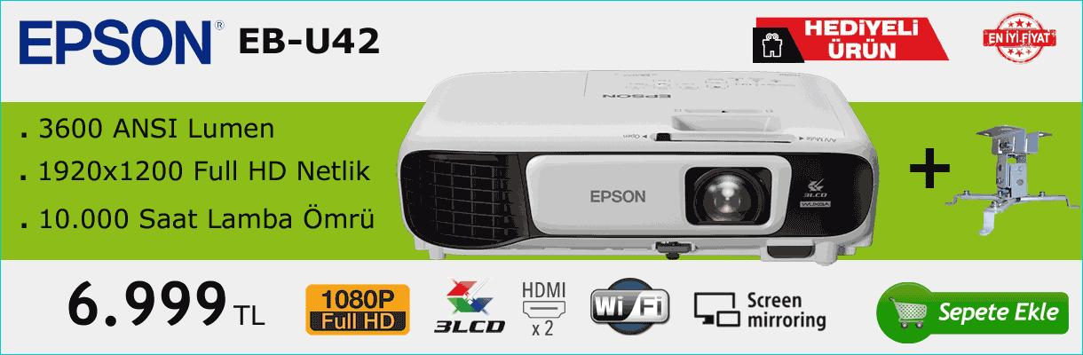 Epson EB-U42 Projektör Kampanya Banner