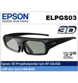 EPSON ELPGS03 3D Projeksiyon Gözlüğü