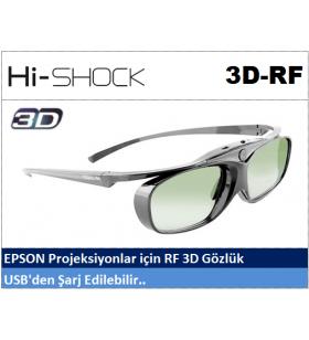 Hi-Shock RF 3D Projeksiyon Gözlüğü