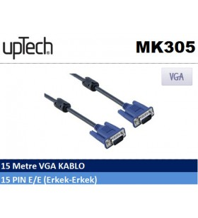 Uptech MK305  VGA Projeksiyon Kablosu (15 metre)