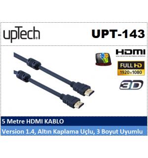 Uptech UPT-143 5MT HDMI Projeksiyon Kablosu