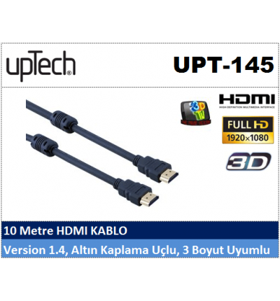 Uptech UPT-145 10MT HDMI Projeksiyon Kablosu