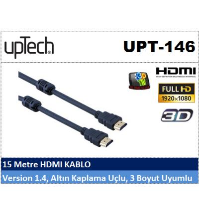 Uptech UPT-146 15MT HDMI Projeksiyon Kablosu