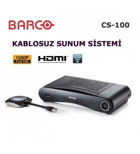 Barco ClickShare CS-100 Kablosuz Sunum Cihazı