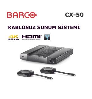 Barco ClickShare CX-50 Kablosuz Sunum Cihazı