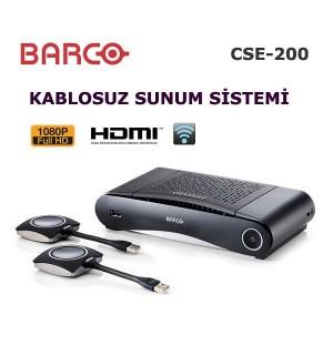 Barco ClickShare CSE-200 Kablosuz Sunum Cihazı