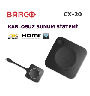 Barco ClickShare CX-20 Kablosuz Sunum Cihazı