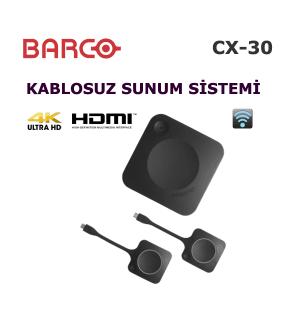 Barco ClickShare CX-30 Kablosuz Sunum Cihazı
