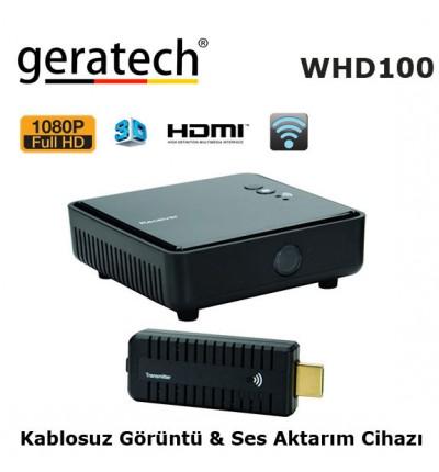 GERATECH WHD100 Kablosuz Görüntü-Ses Aktarım Cihazı
