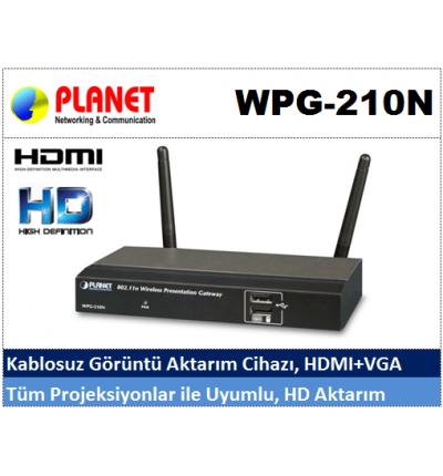 PLANET WPG-210N Kablosuz Görüntü Aktarım Cihazı