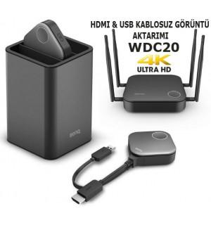 BenQ WDC20 InstaShow Kablosuz Görüntü Aktarım Cihazı