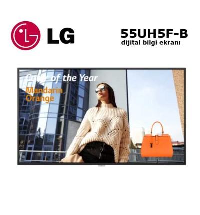 "LG 55UH5F-B Profesyonel Monitör Dijital Bilgi Ekranı 55"""