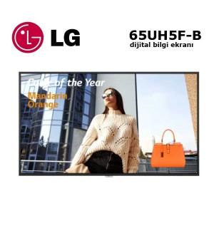 "LG 65UH5F-B Profesyonel Monitör Dijital Bilgi Ekranı 65"""