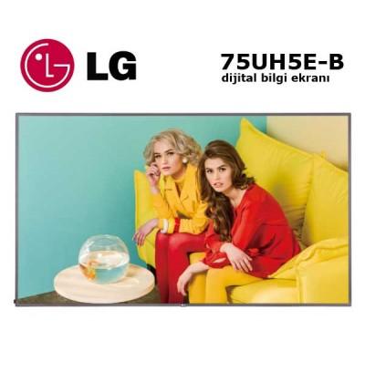 """LG 75UH5E-B Profesyonel Monitör Dijital Bilgi Ekranı 75"""""""
