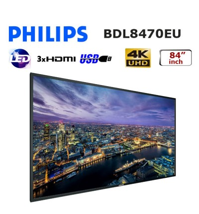 PHILIPS BDL8470EU 84 inch PROFESYONEL UHD LED MONİTÖR