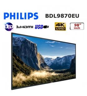 PHILIPS 98 inch PROFESYONEL UHD LED MONİTÖR BDL9870EU