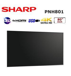 SHARP PN-H801 80 inch PROFESYONEL LED MONİTÖR