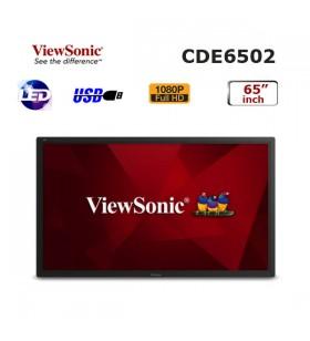 Viewsonic 65 inch PROFESYONEL LED MONİTÖR CDE6502