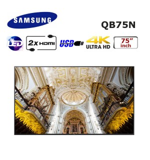 SAMSUNG QB75N 75 inch PROFESYONEL LED MONİTÖR
