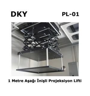 DKY PL-01 Projeksiyon Lifti (1mt)