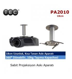 TEC PA-2010 Projeksiyon Askı Aparatı (18cm)