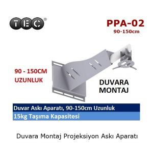 TEC PPA-02 Projeksiyon Cihazı Duvar Askı Aparatı (90-150cm)