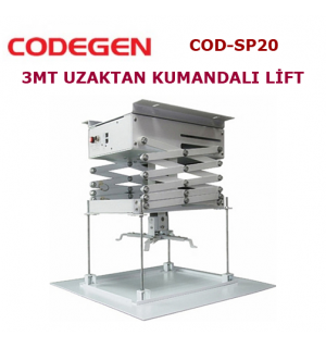 Codegen COD-SP20 Projeksiyon Lifti