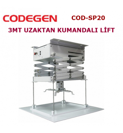 Codegen COD-SP20 Projeksiyon Lifti