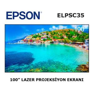 EPSON ELPSC35 Projeksiyon Ekranı 100 inch