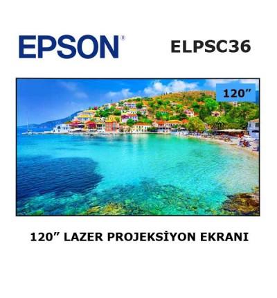 EPSON ELPSC36 Projeksiyon Ekranı 120 inch
