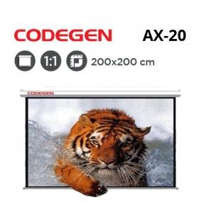 CODEGEN AX-20 Storlu Projeksiyon Perdesi (200x200cm)