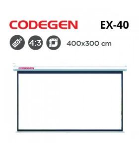 CODEGEN EX-40 Motorlu Projeksiyon Perdesi (400x300cm)