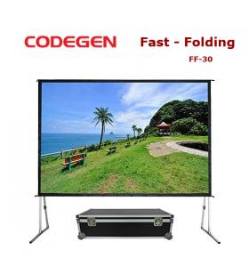 CODEGEN FF-30 Fast Folding Projeksiyon Perdesi 300x225cm