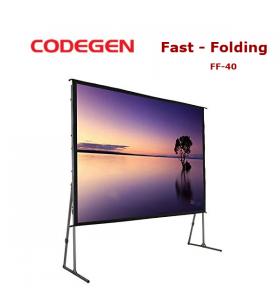 CODEGEN FF-40 Fast Folding Projeksiyon Perdesi 400x300cm