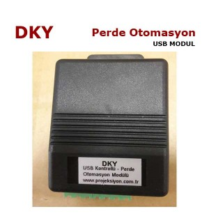 DKY Motorlu Perde Otomasyon Modülü USB