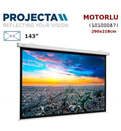 PROJECTA 10100087 Motorlu Projeksiyon Perdesi (290x218cm)