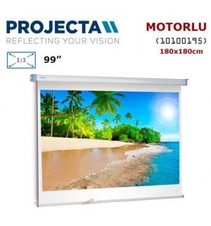 PROJECTA 10100195 Motorlu Projeksiyon Perdesi (180x180cm)