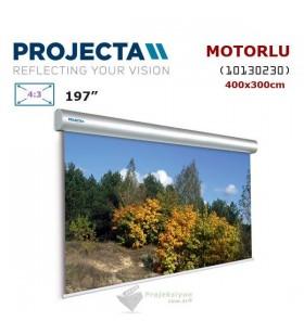 PROJECTA 10130230 Motorlu Projeksiyon Perdesi (400x300cm)