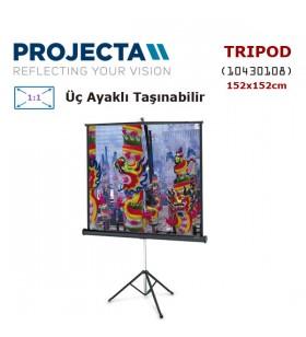 PROJECTA 10430108 Ayaklı Projeksiyon Perdesi (152x152cm)