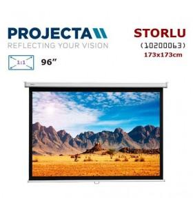 PROJECTA 10200063 Storlu Projeksiyon Perdesi (173x173cm)