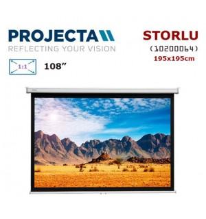 PROJECTA 10200064 Storlu Projeksiyon Perdesi (195x195cm)