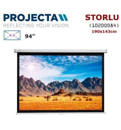 PROJECTA 10200084 Storlu Projeksiyon Perdesi (190x143cm)