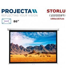 PROJECTA 10200089 Storlu Projeksiyon Perdesi (190x107cm)