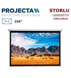 PROJECTA 10201073 Storlu Projeksiyon Perdesi (230x129cm)