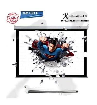 XBLACK XGS-180 Storlu Projeksiyon Perdesi (180x180cm)