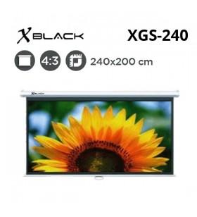 XBLACK XGS-240 Storlu Projeksiyon Perdesi (240x200cm)