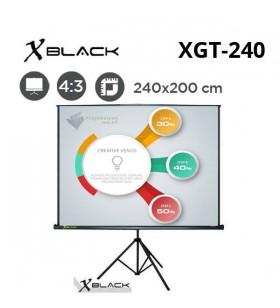 XBLACK XGT-240 Tripod Projeksiyon Perdesi (240x200cm)